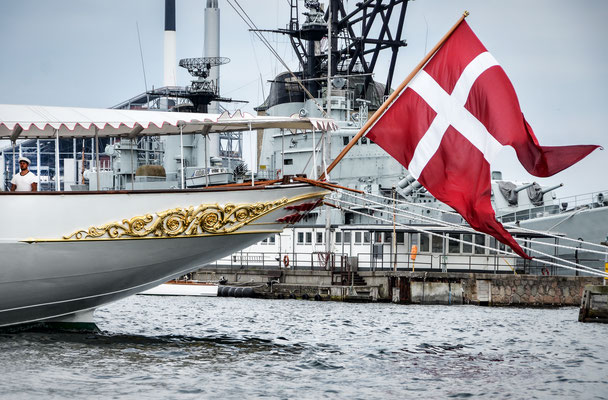 Königliche Yacht - Dannebrog