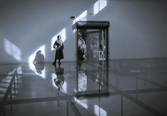 Biennale 2017 - Aufsichtsperson im Deutschen Pavillon