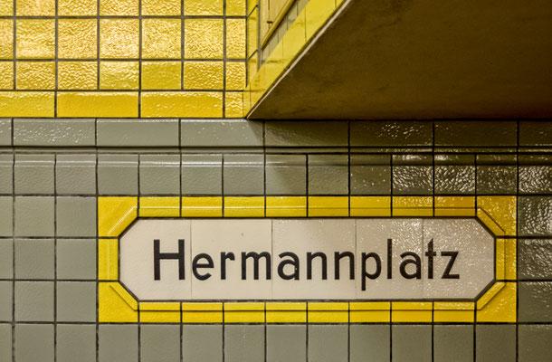 U-Bahnhaltestelle Hermannplatz