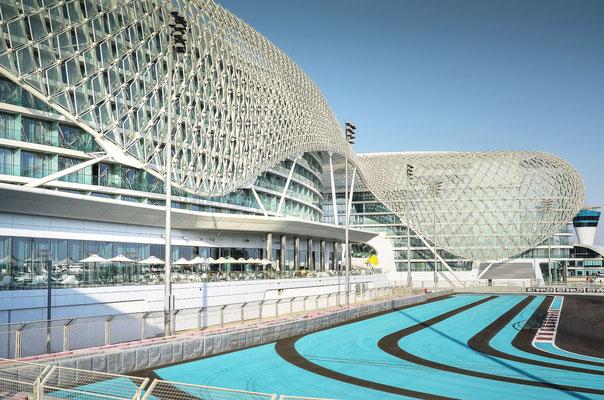 Yas Marina Circuit - Formel 1-Rennstrecke