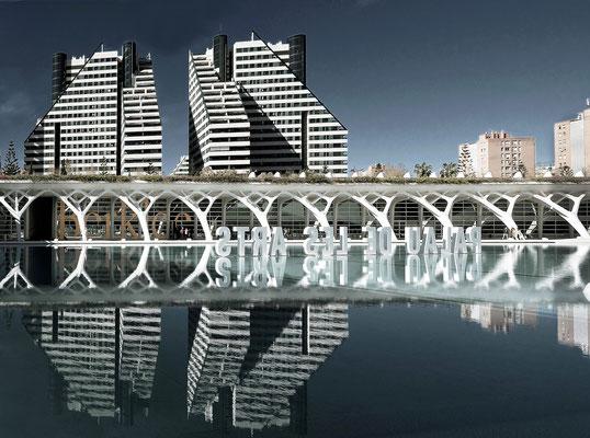 Ciudad de las Artes y de las Ciencias - Santiago Calatrava