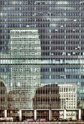 Canary Wharf - Spiegelung