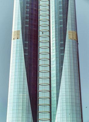 Gebäude entlang der Sheik-Zayed-Road