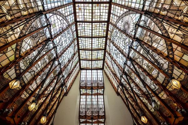 Dachgiebel im Sheepvaartshaus - heute Hotel