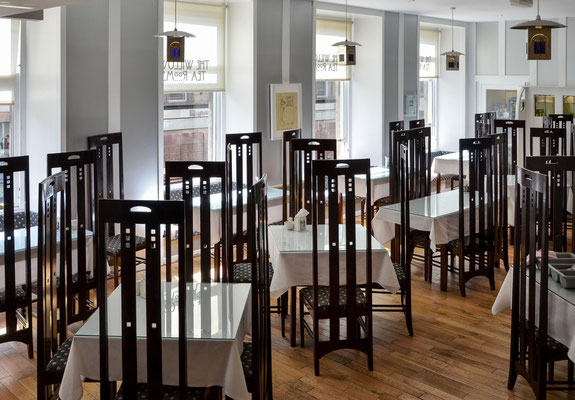 The Willow Tea Rooms - by Charles Rennie Mackintosh