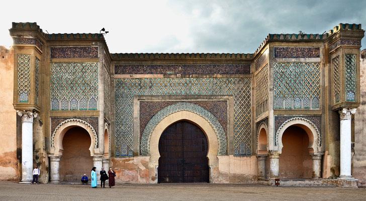 Meknes - Stadttor Bab-el-Mansour