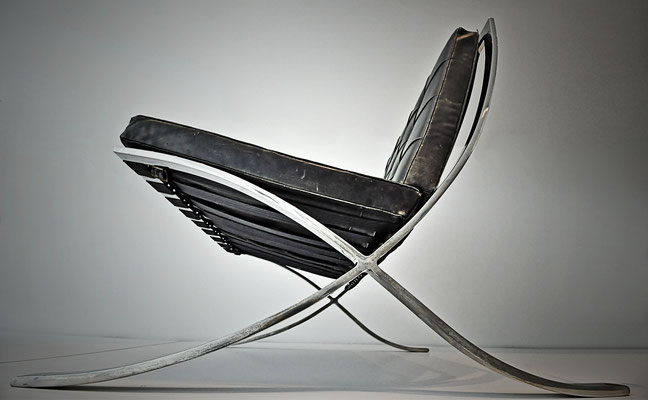 Barcelona chair - Entwurf Ludwig Mies van der Rohe