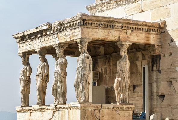 Akropolis  - Erechteion Tempel
