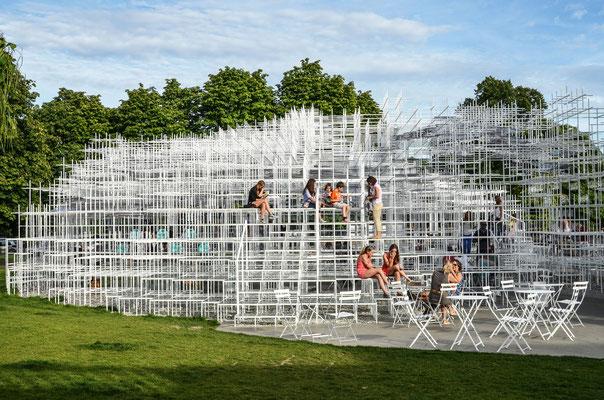 Serpentine Gallery - Installation von Sou Fujimoto
