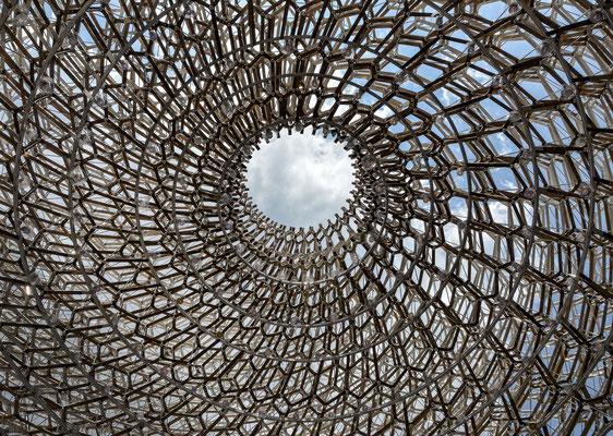 Expo - Pavillon von Großbritannien - Ansicht vom OG nach oben