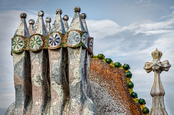 Casa Batlló - Belüftungskamine