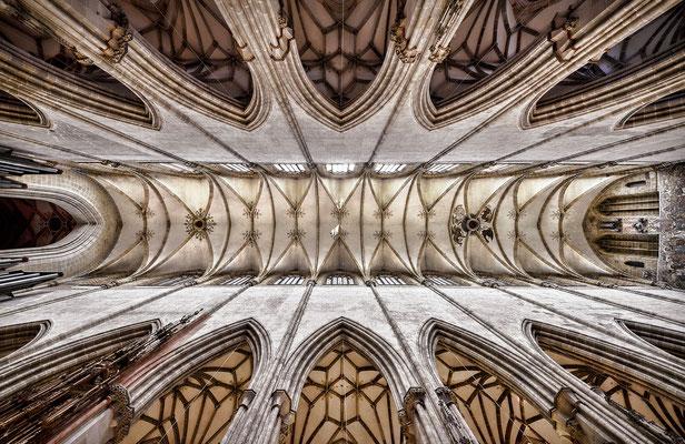 Ulmer Münster - looking up