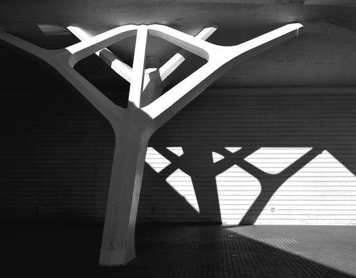 Pfeiler à la Calatrava