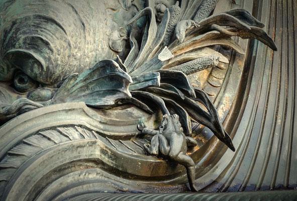 Detail am Galateabrunnen