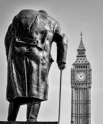 Churchill mit Big Ben