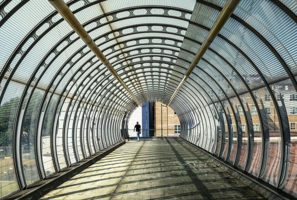 Canary Wharf - Fußgängerbrücke