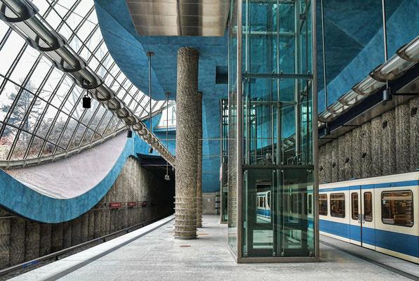 U-Bahnstation St.-Quirin-Platz
