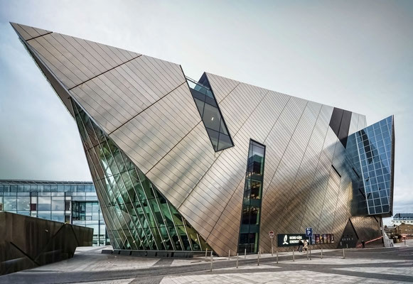 The Grand Canal Theatre - by Daniel Libeskind