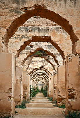 Meknes - Getreidespeicher