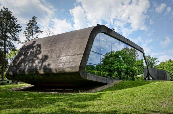 Museum Ordrupgaard - Entwurf Zaha Hadid