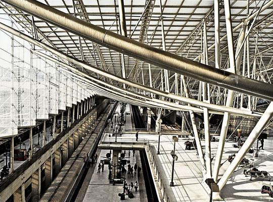 Flughafen CDG in Paris