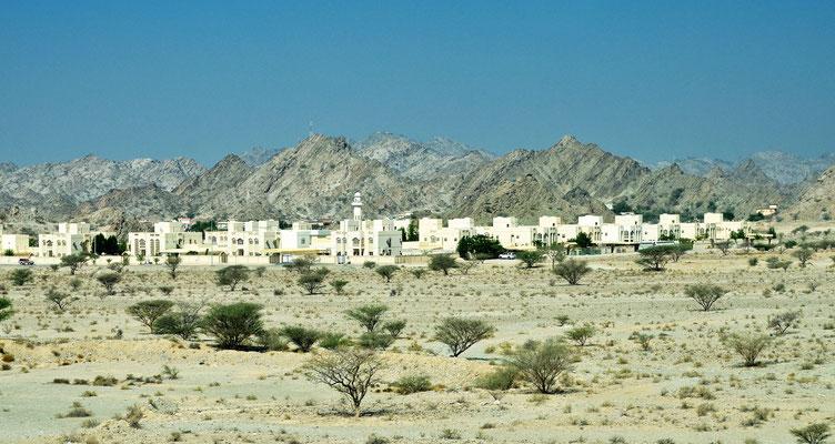 auf dem Weg nach Fujairah