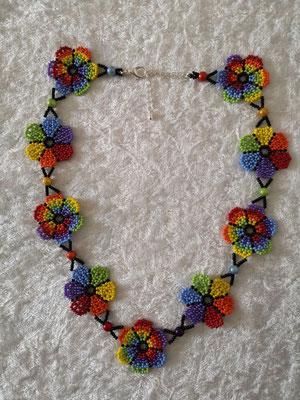 Blumenkette Regenbogen 30€