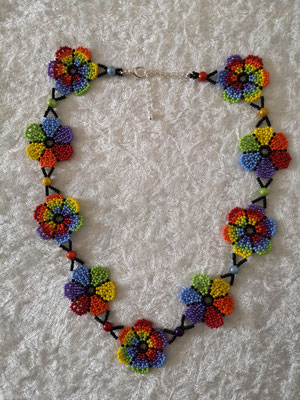 Blumenkette Regenbogen 35€ verkauft