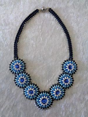 Superduo Kreise blau-türkis 50 Euro