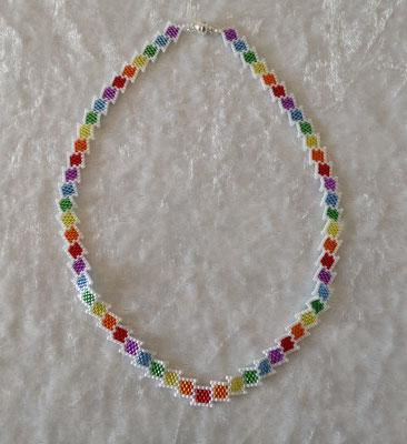 Kästchenkette Regenbogen 40 Euro