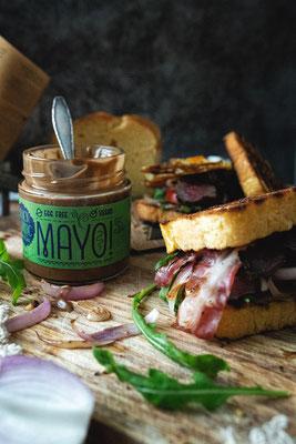 Tonistrendlupe-Foodblog-Kooperation-schwarzer knoblauch-mayonaise
