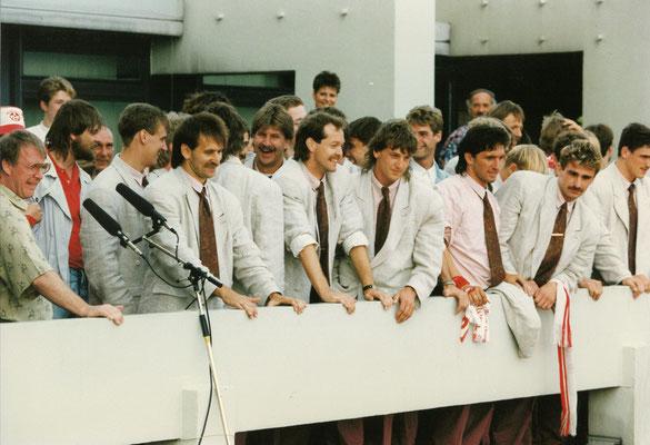 Pokaltriumph 1990 (Foto: Archiv 1. FCK)