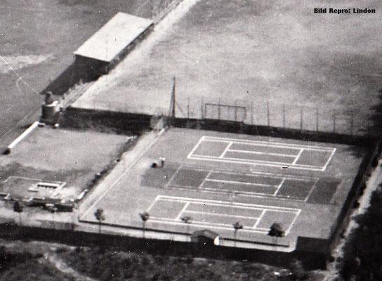 Sportanlage am Betzenberg, Luftbild 1925 (Foto: Archiv Eric Lindon)