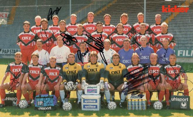 Der Kader der Saison 1993/1994