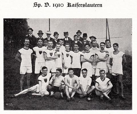 SV 1910 Kaiserslautern (Foto: Archiv Eric Lindon)