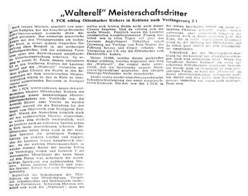 Spielbericht Rheinpfalz 12.07.2019 (Bild: Archiv Eric Lindon)