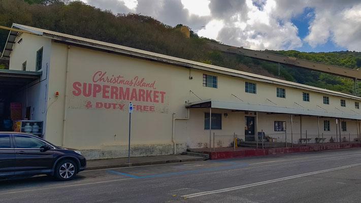 der grösste Supermarkt auf der Insel