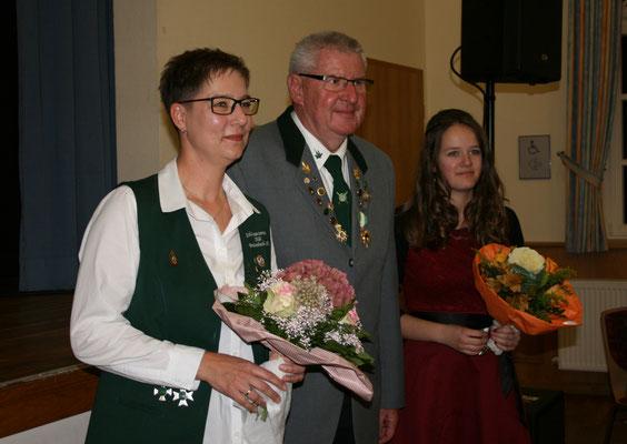 Schützenkönigin des Schützenbezirks Rotenburg/FD: Christine Ludwig
