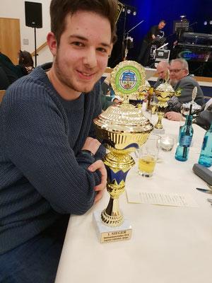 1. Sieger Bezirkspokalschiessen: Jan-Phillip Becker