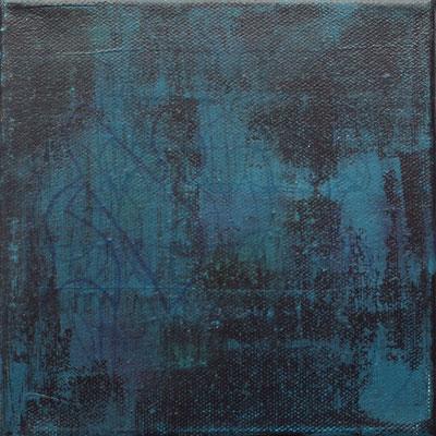 acrylique mixte sur toile, 15 x 15 cm, 2020 | fr 170