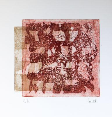 eau-forte et aquatinte, 18 x 18 cm