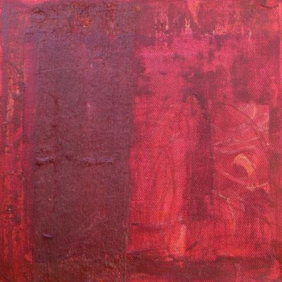 acrylique mixte sur toile, 20 x 20 cm, 2021