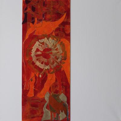 60 x 60 cm | acrylique mixte sur toile | 2020 | fr 950