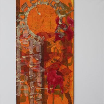 60 x 60 cm | acrylique mixte sur toile | 2019