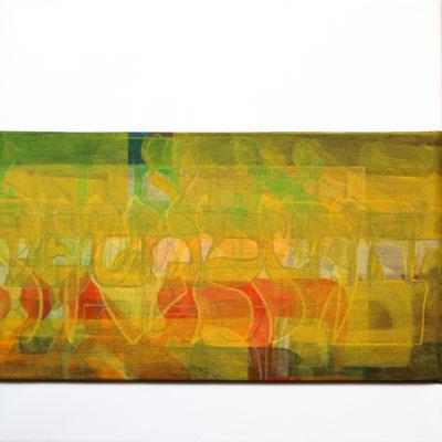 Acrylique mixte sur toile, 30 x 30 cm, 2016