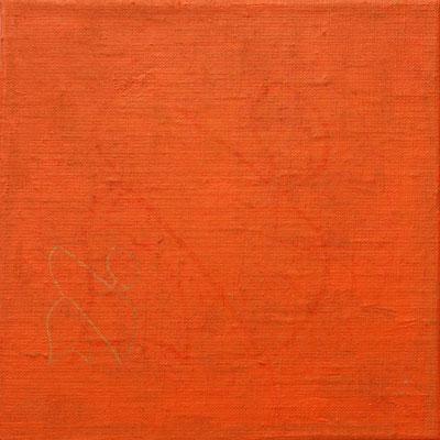 acrylique mixte sur papier, 18 x 18 cm, 2020