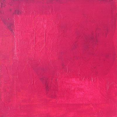 acrylique mixte sur toile, 30 x 30 cm, 2021