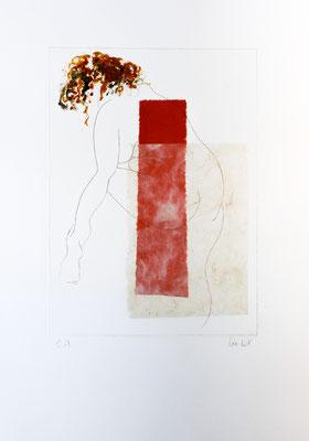 eau-forte et collage, 38 x 27 cm | fr 290
