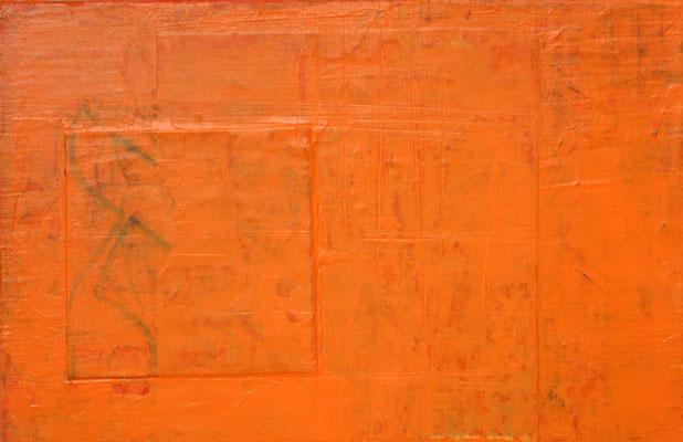 acrylique mixte sur toile, 29 x 19 cm, 2020