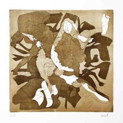 30 x 30 cm, gravure sur support bois | fr 888.-